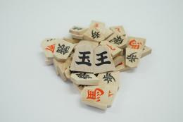 Promotion Pieces (1-kanji, Red on Promoted Side)